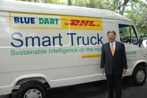 DHL and Blue Dart offer 'go green' service in India | NGV